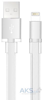 Кабель USB Black Rock Air Cable Lightning White (7001AIR04)