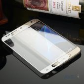 Вид 3 - Защитное стекло Tempered Glass 3D Full Cover Samsung G930 Galaxy S7 White