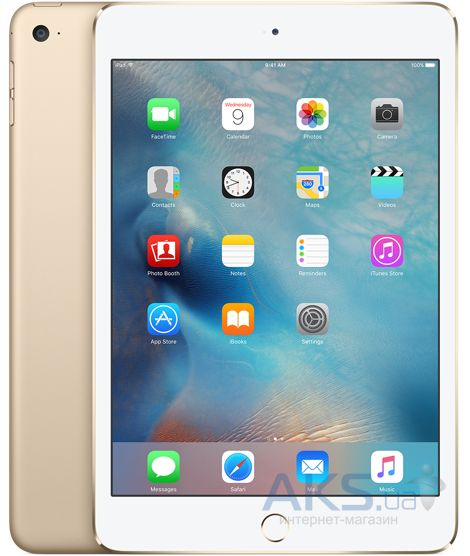 Планшет Apple A1538 iPad mini 4 Wi-Fi 64Gb  (MK9J2RK/A) Gold