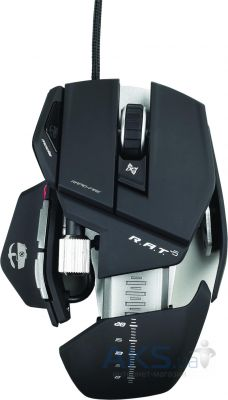 Компьютерная мышка Mad Catz R.A.T. 5 Gaming Mouse (MCB4370500B2/04/1) Black
