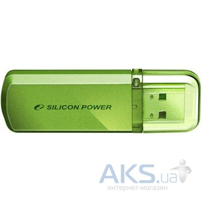 Флешка Silicon Power 4Gb Helios 101 Green