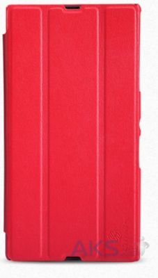 Чехол Nillkin Stylish Leather Series Sony Xperia Z Ultra XL39H C6802 Red