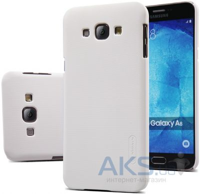 Чехол Nillkin Super Frosted Shield Samsung Galaxy A8 A8000 White