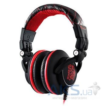 Наушники (гарнитура) Tt eSPORTS DRACO Gaming Headset Black/Red
