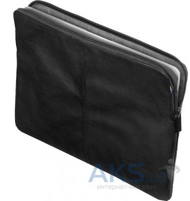 Чехол Decoded Leather Sleeve with Zipper for MacBook Pro / Retina 15 Black (D3SZ15BK\D4SS15BK)