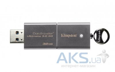 Флешка Kingston DT Ultimate G3 32GB (DTU30G3/32GB) Silver