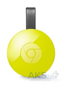 Медиаплеер Google Chromecast 2.0 (2015 Model) Yellow