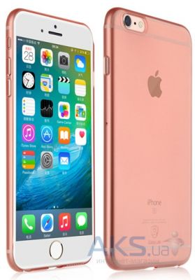 Чехол REMAX Shell Series Apple iPhone 6 Plus, iPhone 6S Plus Pink