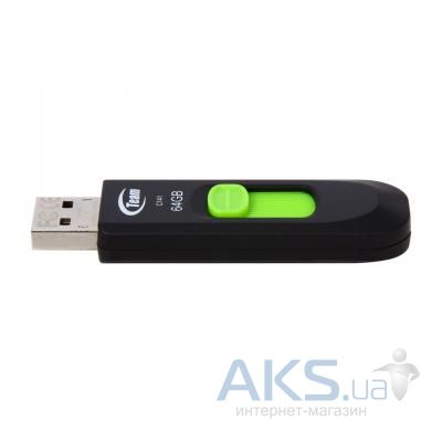 Флешка Team 64GB C141 Green USB 2.0 (TC14164GG01)