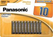 Батарейки Panasonic AAA (R03) Alkaline Power 10шт (LR03REB/10BW)