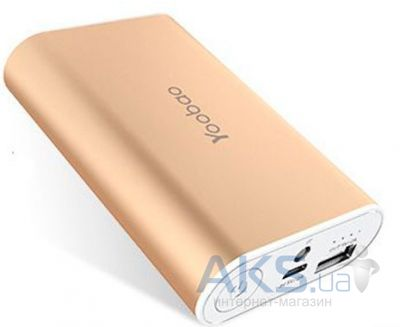 Внешний аккумулятор power bank Yoobao Specialist Power Bank 6000mAh YB-S3 Gold