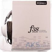 Вид 5 - Наушники (гарнитура) Incipio f38 Hi-Fi Stereo Headphones Bright Vintage White