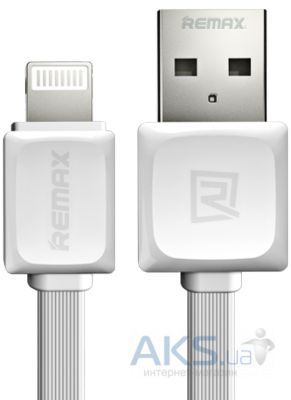 Кабель USB REMAX Fast Data Lightning Cable White (RC-008i / 5-049)