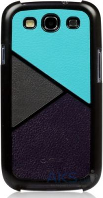 Чехол Zenus Skinny Leather case series for Samsung Galaxy S3 Dark Spectrum