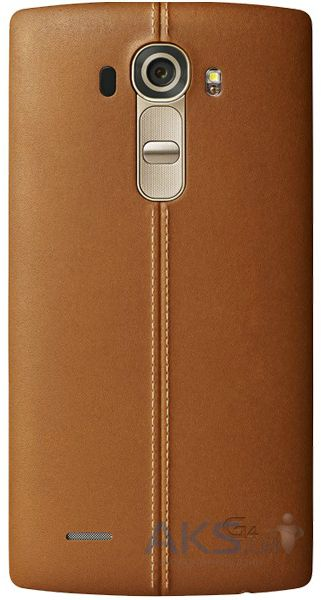 Чехол LG Leather Series G4 H818 Beige (CPR-110)