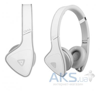 Наушники (гарнитура) Monster DNA On-Ear Headphones White Over Light Grey (MNS-128469-00)