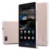 Чехол Nillkin Super Frosted Shield Huawei Ascend P8 Lite Gold