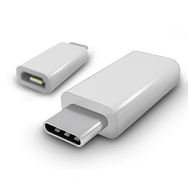 Адаптер-переходник Siyoteam Micro USB to Type-C Charge adapter White