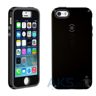 Чехол Speck CandyShell + FacePlate Apple iPhone 5, iPhone 5S, iPhone 5SE Black/Slate Grey (SPK-A2487)
