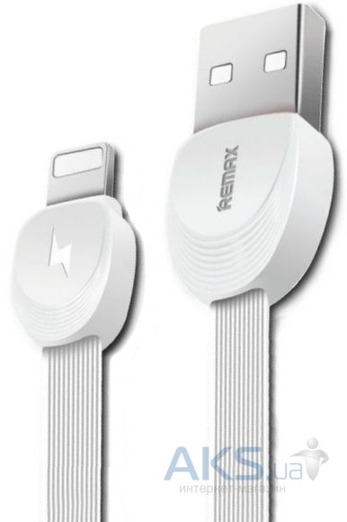 Кабель USB REMAX Shell RC-040i Lightning White