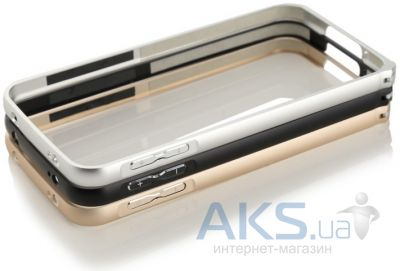 Чехол New Metal Slim Bumper Samsung A300 Galaxy A3 Silver