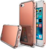 Чехол Ringke Fusion Mirror Apple iPhone 5, iPhone 5s, iPhone SE Rose Gold (824543)