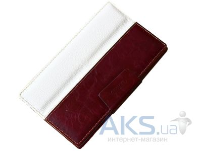 Чехол для планшета TETDED Leather case для Google Nexus 7 New Merlot Purple/White