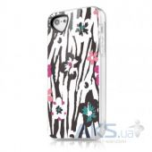 Чехол ITSkins Phantom for iPhone 5C Zebra Flower (APNP-PHANT-ZBFL)