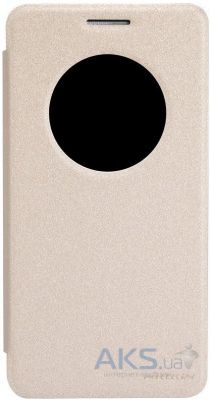 Чехол Nillkin Sparkle Leather Series Asus ZenFone 6 A601CG Gold