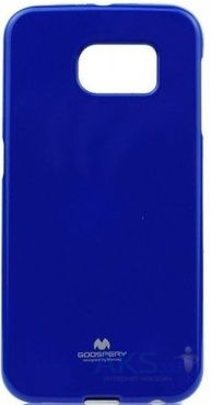 Чехол Mercury Jelly Color Series Samsung Galaxy S6 G920F Blue
