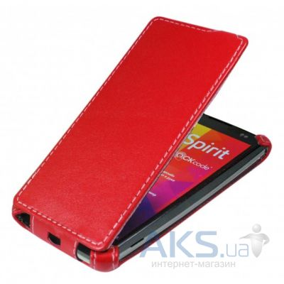 Чехол Armor flip case Lenovo A5000 Red