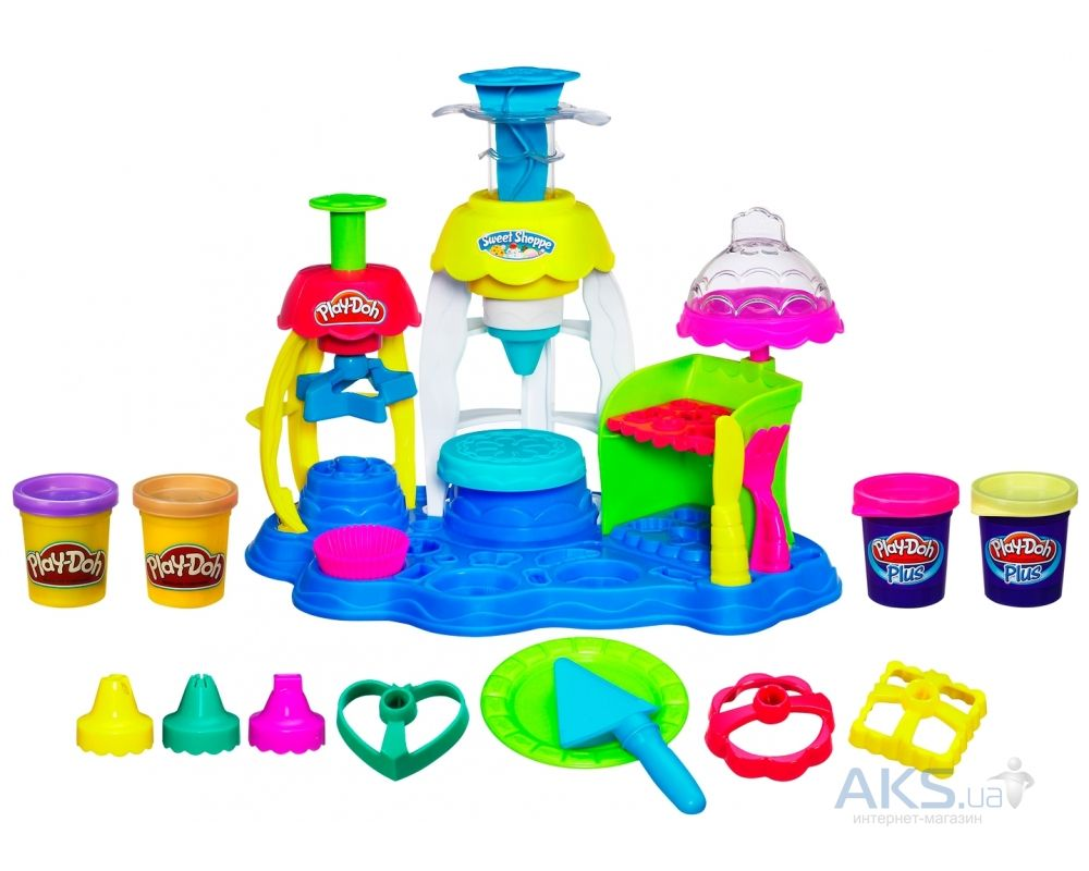 Игра Hasbro Play-Doh Фабрика пирожных (A0318)