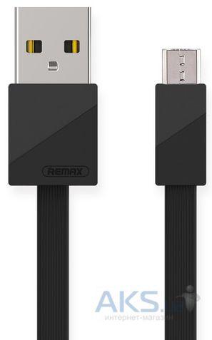 <b>Кабель USB Remax Blade</b> RC-105m Micro <b>USB</b> Black в Киеве и ...