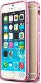 Чехол Mooke Metal Bumper Apple iPhone 6 Plus, iPhone 6S Plus Pink