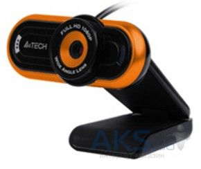 WEB-камера A4Tech PK-920H-2 HD Black/orange