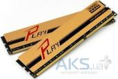 Вид 2 - Оперативная память GooDRam DDR3 16GB (2x8Gb) 1600 MHz PLAY Gold (GYG1600D364L10/16GDC)