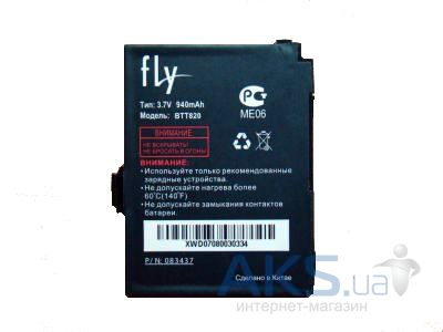 Аккумулятор Fly B600 / BTT820 (940 mAh) Original