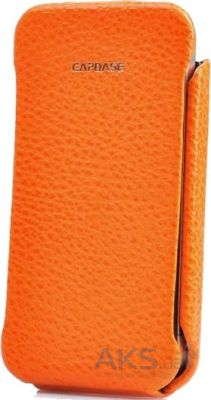 Чехол Capdase Capparel Protective Case Royal Orange/Black for iPhone 4/4S (CPIH4-R071)