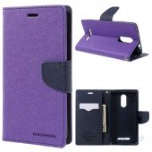 Вид 2 - Чехол Mercury Fancy Diary Xiaomi Redmi Note 3, Redmi Note 3 Pro Blue - Violet