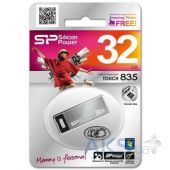 Вид 3 - Флешка Silicon Power 32GB Touch 835 USB 2.0 (SP032GBUF2835V1T)
