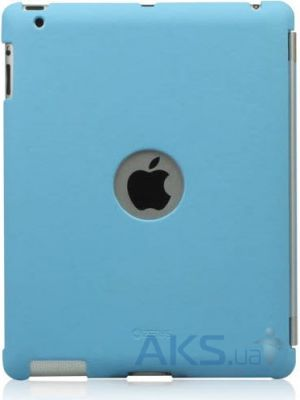 Чехол для планшета Zenus Synthetic Leather Smart Match Back Cover for Apple iPad 4 Blue