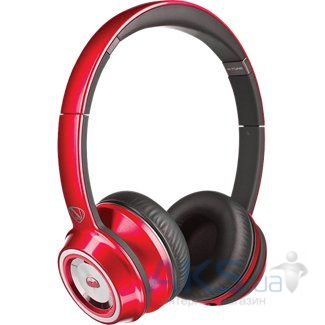 Наушники (гарнитура) Monster NCredible NTune On-Ear Headphones Candy Red (MNS-128506-00)