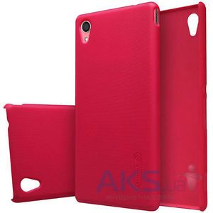Чехол Nillkin Super Frosted Shield Sony Xperia M4 Aqua E2303 Red