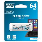 Вид 4 - Флешка GooDRam 64GB Cl!ck White USB 2.0 (UCL2-0640W0R11)