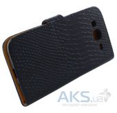 Вид 4 - Чехол Turned Around Book for Samsung i9190 Black Croco