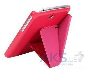 Чехол для планшета Xundd V Leather case for Samsung P5200/P5210 Galaxy Tab 3 10.1 Pink