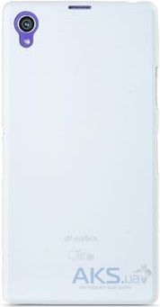 Чехол Melkco Air PP 0.4 mm Cover Case for Sony Xperia Z1 C6902 White (SEXPRIUTPPWE)