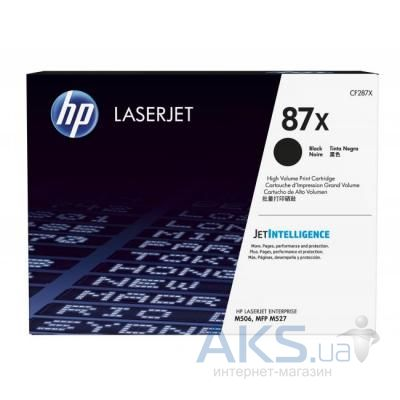 Картридж HP LJ  87X Enterprise Flow MFP M527c/M506dn (CF287X)