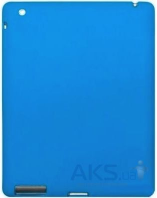 Чехол для планшета Dexim Silicon Case for Apple iPad 2/3/4 Blue