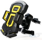 Держатель Remax RM-C14 Black/Yellow
